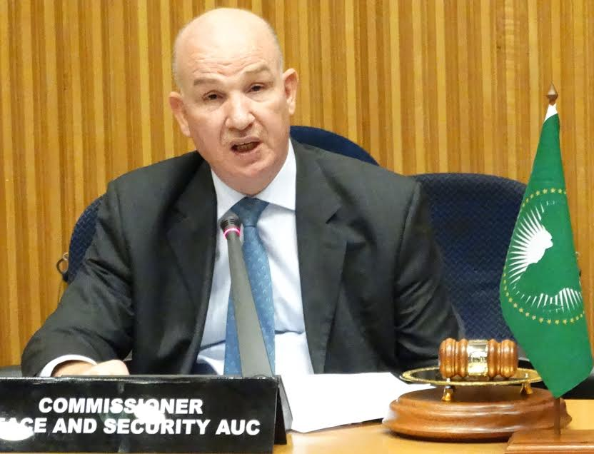 Ambassador Smail Chergui , AU Commissioner for Peace and Security